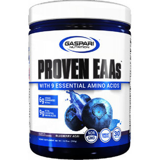 Gaspari PROVEN EAA'S 30 SERVINGS BLUEBERRY ACAI