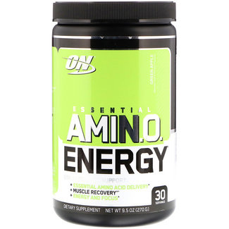 Optimum Nutrition AMIN.O. Energy + Electrolytes Green Apple 30 Servings