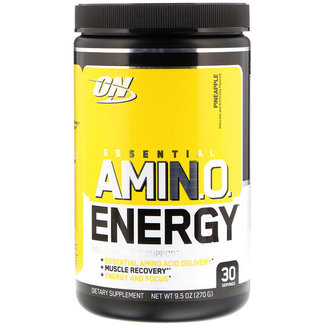 Optimum Nutrition AMIN.O. Energy + Electrolytes Pineapple 30 Servings