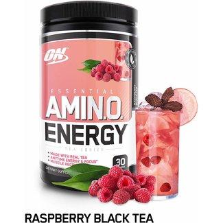 Optimum Nutrition AMIN.O. Energy + Electrolytes Raspberry Black Tea 30 Servings