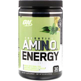 Optimum Nutrition AMIN.O. Energy + Electrolytes Sweet Mint Tea 30 Servings