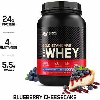 Optimum Nutrition Gold Standard Blueberry Cheesecake 100% Whey 2Lb