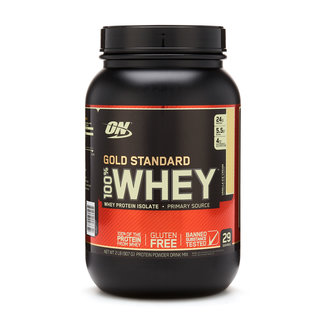 Optimum Nutrition Gold Standard Vanilla Ice Cream 100% Whey 2Lb