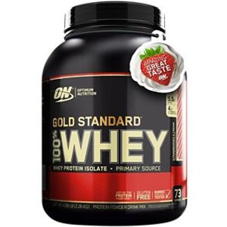 Optimum Nutrition Gold Standard Delicious Strawberry 100% Whey 5Lb