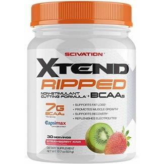 Xtend Xtend Ripped Strawberry Kiwi 30 Servings