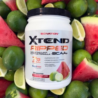 Scivation Xtend Ripped Watermelon Lime 30 Servings