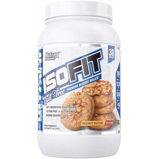 Nutrex Research ISOFIT Peanut Butter Toffee 2 Lb