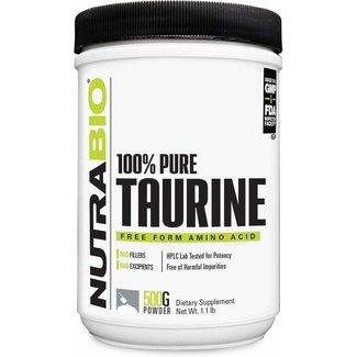 Nutrabio Taurine 500 Grams
