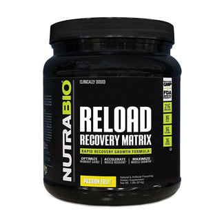 Nutrabio Reload Recovery Matrix Passion Fruit 30 Servings
