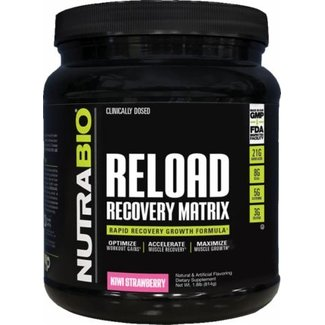 Nutrabio Reload Recovery Matrix Kiwi Strawberry 30 Servings
