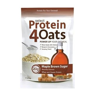 Pescience Protein4Oats Maple Brown Sugar 12 Servings