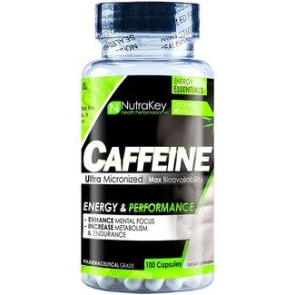 Nutrakey Caffeine 200 Milligrams 100 Capsules