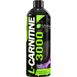 Nutrakey L-Carnitine 3000 Grape Crush 31 Servings