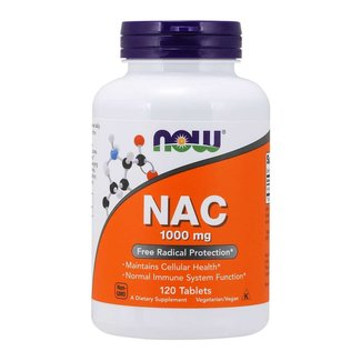 Now Foods NAC 1000MG 120 TB