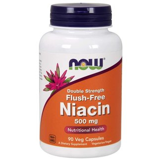 Now Foods Niacin 500MG 180 Veg Cap
