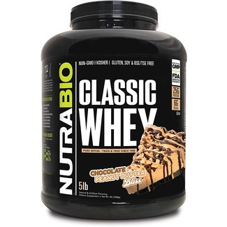 Nutrabio Classic Whey Chocolate Peanut Butter Bliss 2 Lb