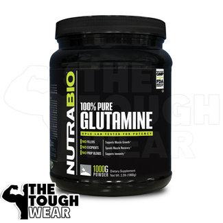 Nutrabio Glutamine 1000 Grams 200 Servings