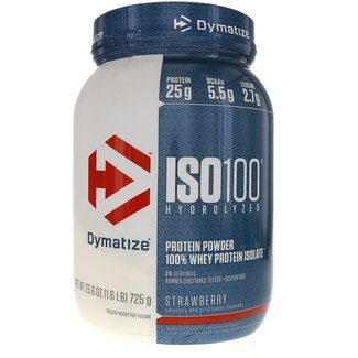 Dymatize ISO100 Strawberry 5 Lb