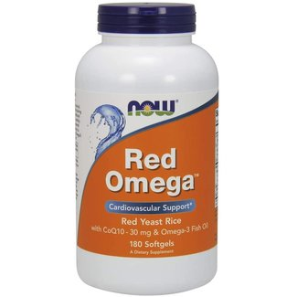 Now Foods Red Omega 180 Softgels
