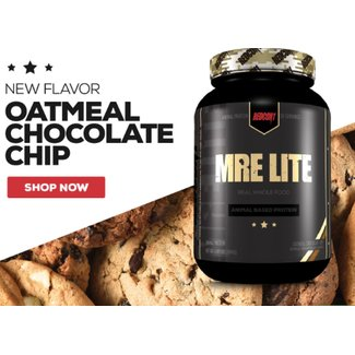 Redcon1 MRE Lite Oatmeal Chocolate Chip 30 Servings