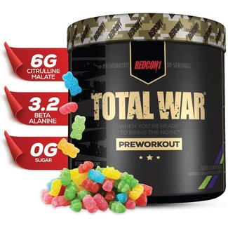Redcon1 TOTAL WAR 30 SERVINGS SOUR GUMMY BEAR