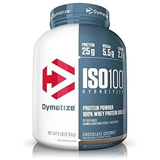 Dymatize ISO100 Hydrolyzed Chocolate Coconut 5 Lb