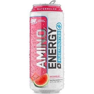 Optimum Nutrition Amino Energy + Electrolytes RTD Watermelon 12 Fl Oz