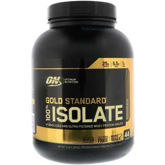 Optimum Nutrition Gold Standard Isolate Chocolate Bliss 3 Lbs