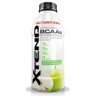 Scivation XTEND Green Apple BCAA Hydration 16.9 Fl Oz RTD