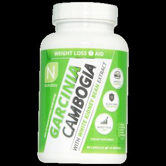 Nutrakey Garcinia Cambogia W/ White Kidney Bean 90 Cap