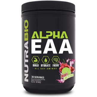 Nutrabio ALPHA EAA Cherry Lime Slush 30 Serv