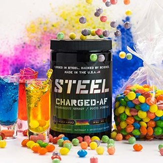 Steel Supps CHARGED-AF Candy Bliss 30 Serv