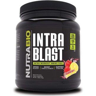 Nutrabio Intra Blast Strawberry Lemon Bomb 30 Serv