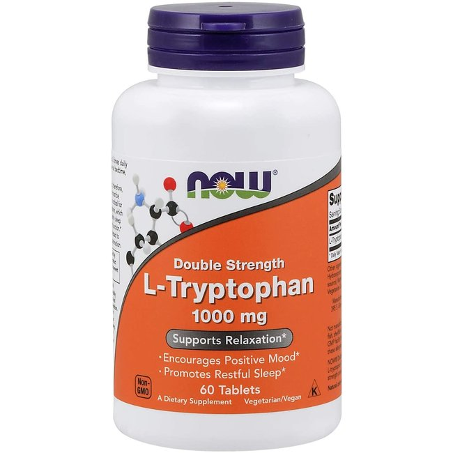 Now Foods L-Tryptophan 1000Mg 60 TB