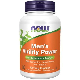 Now Foods Men's Virility Power 120 Cap