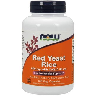 Now Foods Red Yeast Rice With COQ10 120 VC