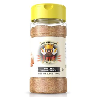 Flavor God Buttery Cinnamon Roll Seasoning 5.3 Oz