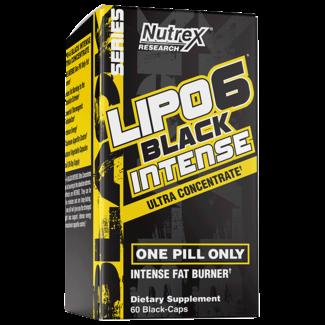 Nutrex Research Lipo 6 Black Intense 60 Cap