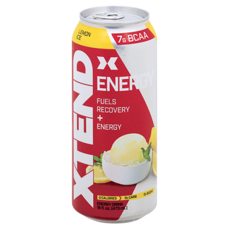 Xtend RTD Energy Lemon Ice 16 Fl Oz