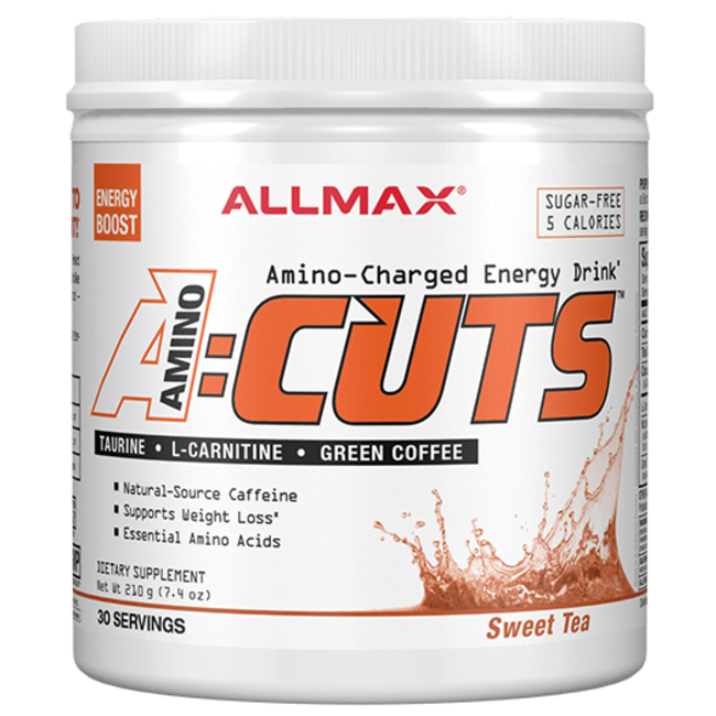 Allmax Nutrition A:CUTS, Amino Charged Energy Drink