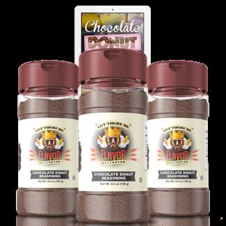 Flavor God Chocolate Donut Seasoning 5.5 Oz