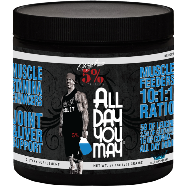 5% Nutrition All Day You May - BCAA Recovery Drink