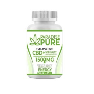 Paradise Pure Paradise Pure Cbd+Specialty 30 Gel Capsules Energy