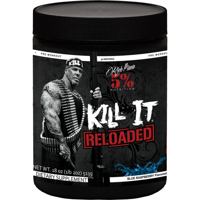 5% Nutrition Kill It - Reloaded Pre-Workout