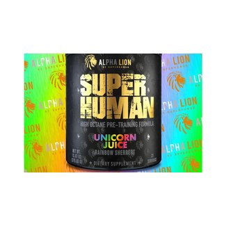 Alpha Lion SuperHuman Pre-Workout Unicorn Juice 21 Servings