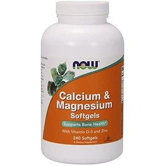 Now Foods Calcium & Magnesium 240 Softgels