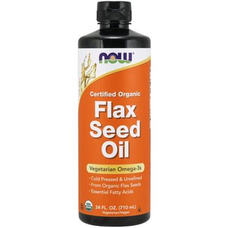 Now Foods Flax Seed Oil 24 OZ