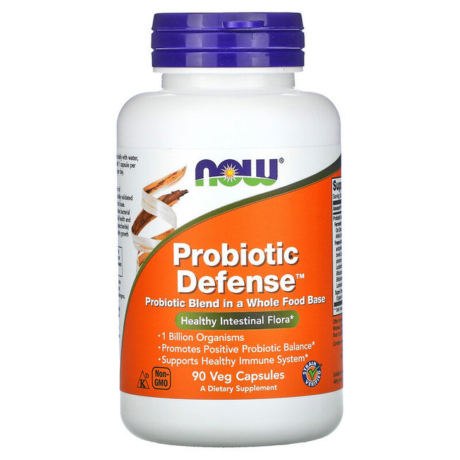 Now Foods Probiotic Defense 90 VC