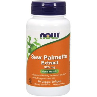 Now Foods Saw Palmetto Extract 320 MG 90 Vsg