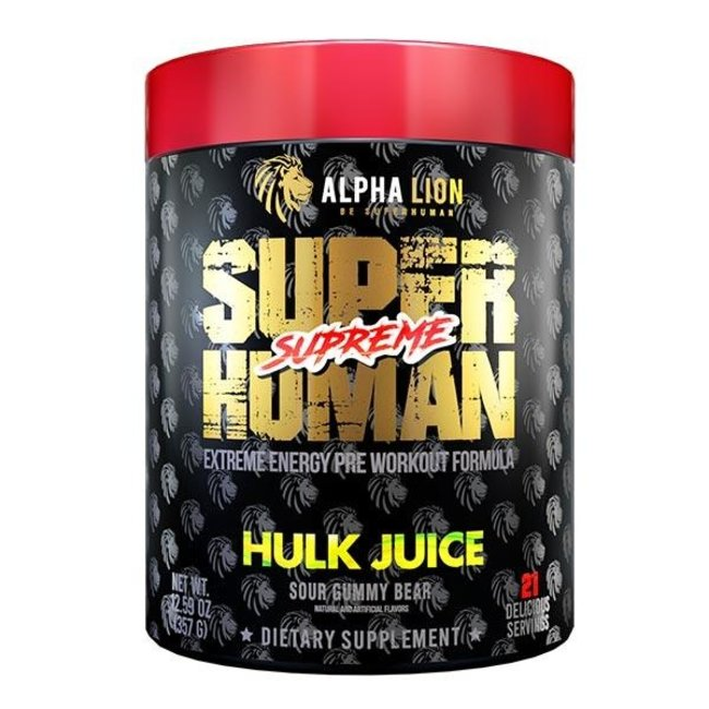 Alpha Lion SuperHuman Supreme High Octane Pre-Workout